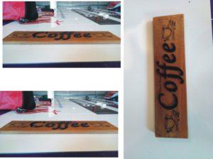 engraving&cut lettering
