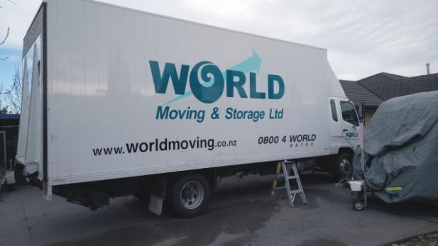 20m truck signage